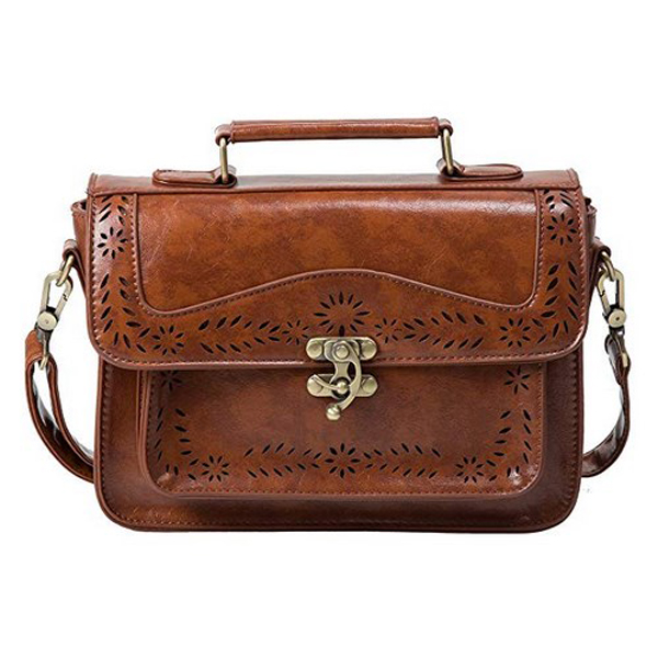 Fashion Chic Vintage Looking Satchel Purse