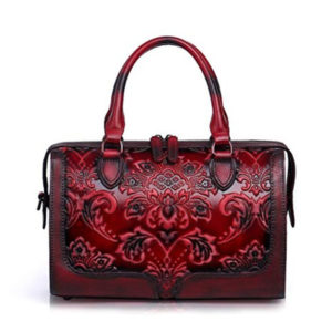 Front view of handbag