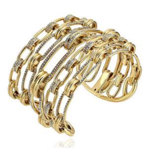 Cuff bracelet side view