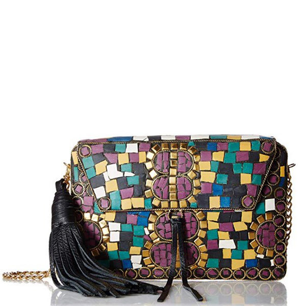 Front view of clutch bag