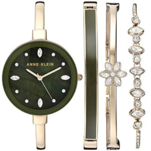 Watch and bracelet set front view