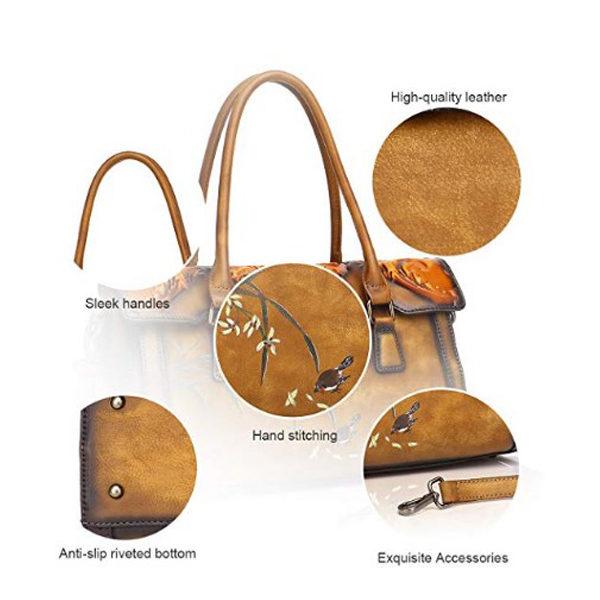 Detailed view of handbag