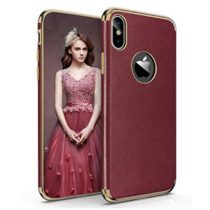 Side View - LOHASIC Luxury Leather Scratch Resistant Protective Cover